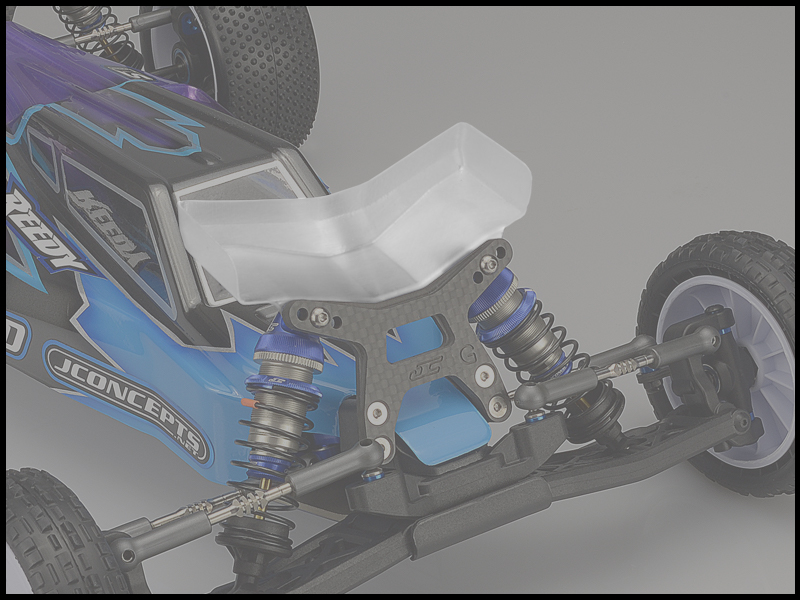 JConcepts - Aero B6 | B6D front wing, Fits gullwing front arm -