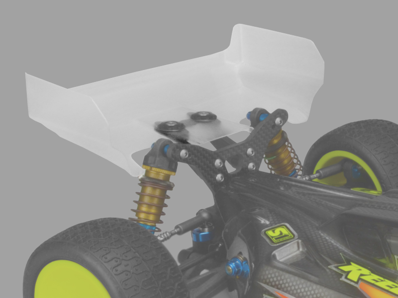 JConcepts - Aero B6 | B6D | B64 | B64D rear wing, 2pc.