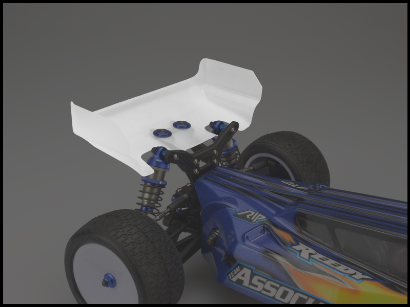 JConcepts - Aero B6 | B6D rear wing - short chord, 2pc. (Fits -