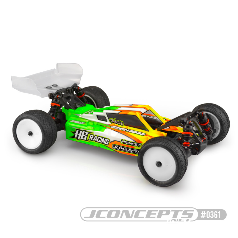 JConcepts - Aero S-Type HB D418 wing only, 2pc