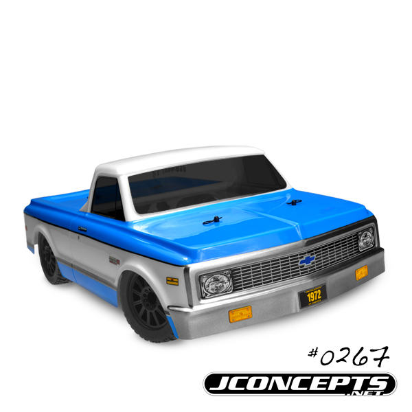 JConcepts 1972 Chevy C10 - Scalpel speed run body - requires #21