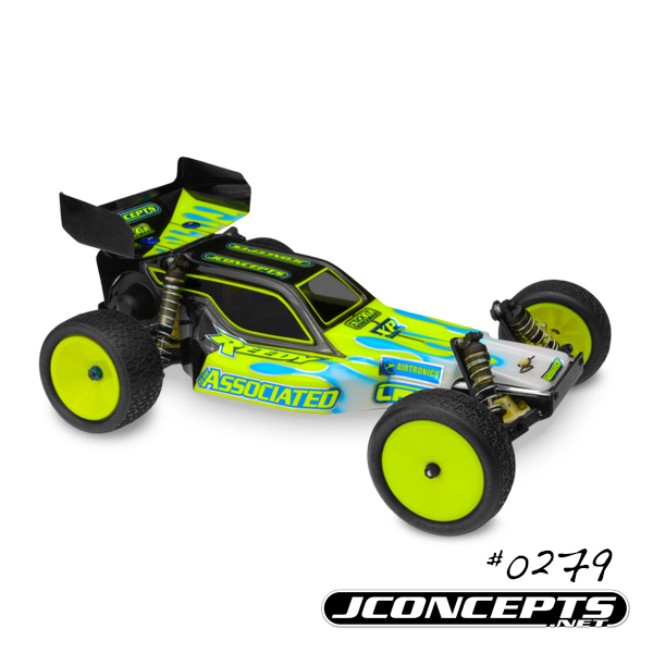 JConcepts Detonator Worlds - RC10 Worlds car body w/ 5.5 wing