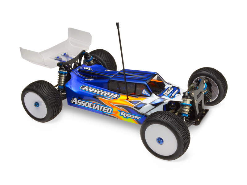 JConcepts Silencer - B44.3 body w/ 6.5 Hi-Clearance wing
