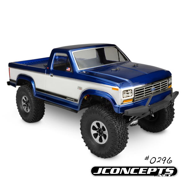 JConcepts 1984 Ford F-150 - Trail / Scaler body (fits Vaterra an