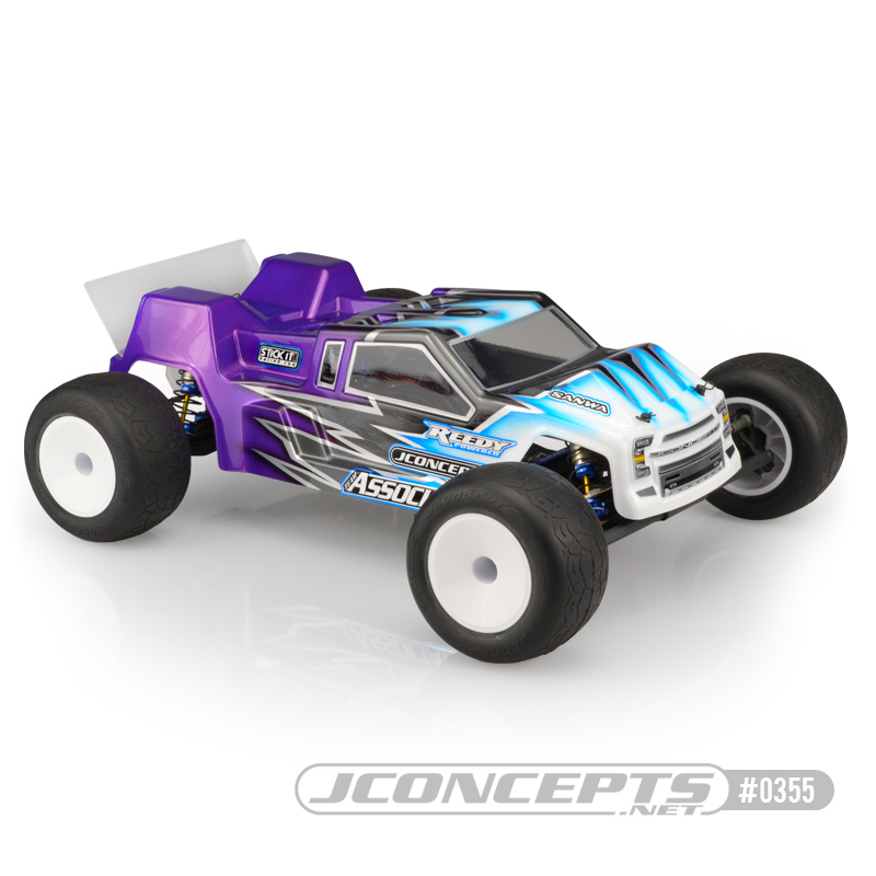 JConcepts F2 - T6.1 Finnisher body w/ rear spoiler