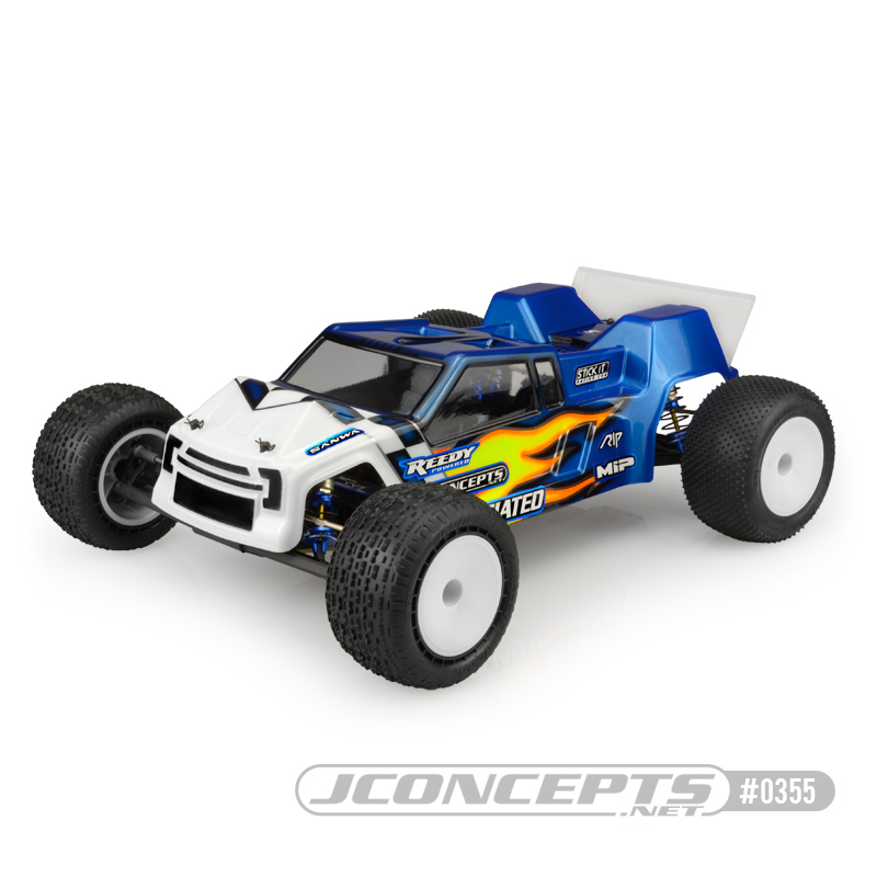 JConcepts F2 - T6.1 Finnisher body w/ rear spoiler - light-weigh
