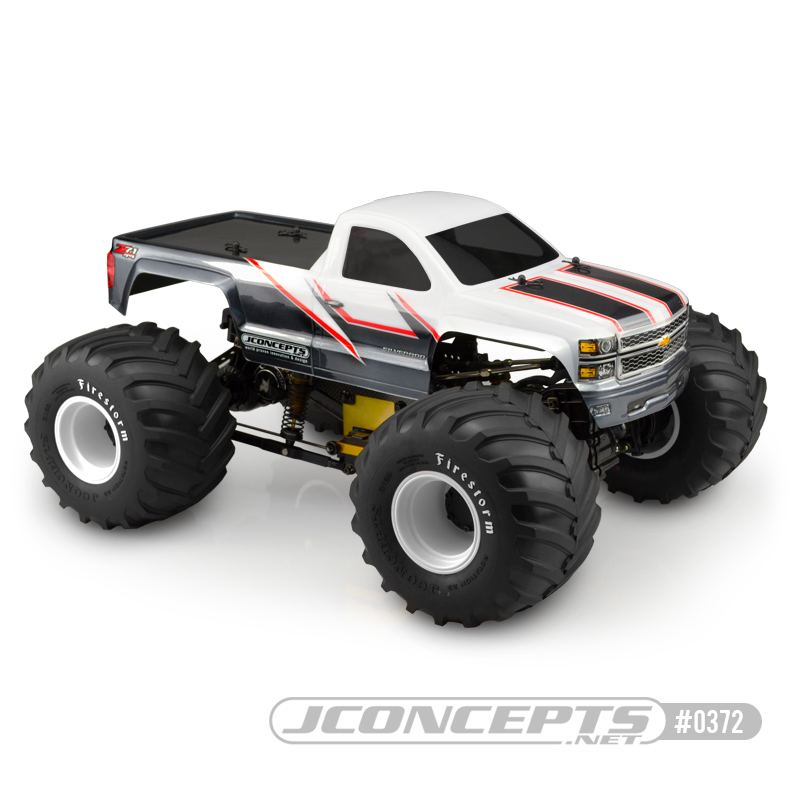 JConcepts 2014 Chevy 1500 MT single cab body