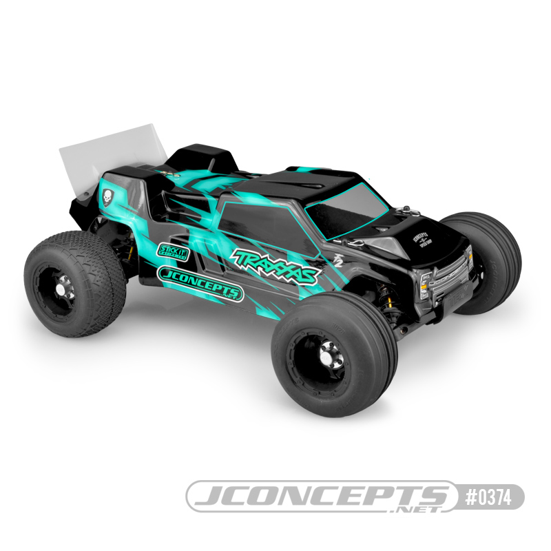 JConcepts F2 - Rustler VXL body w/ rear spoiler