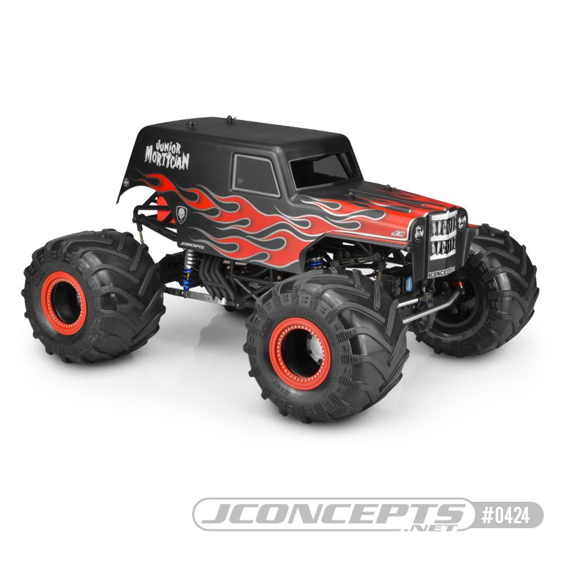 "JConcepts JCI - Junior Mortician, 12.5"" wheelbase body"
