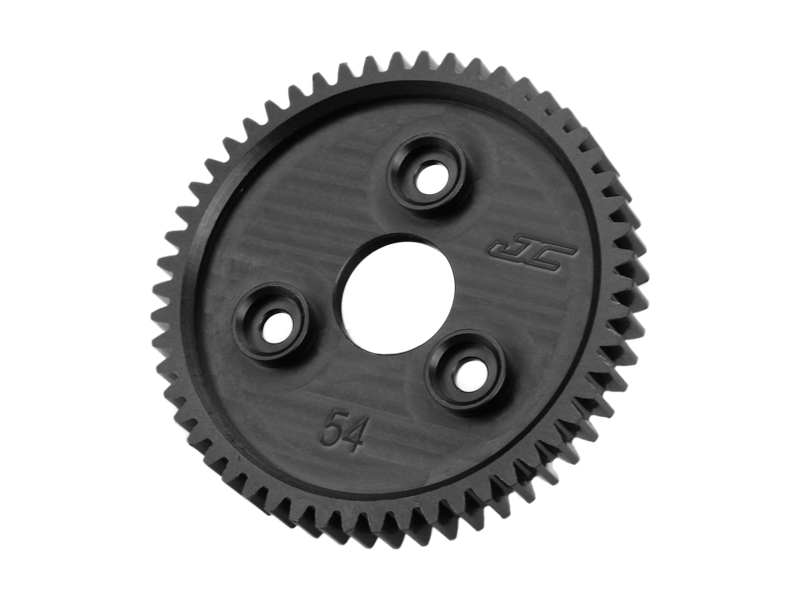 JConcepts - .8M, 54T, SS Machined Spur Gear - fits Traxxas Slash