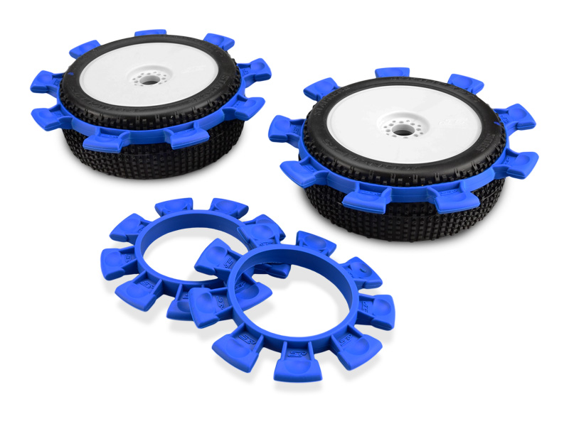 JConcepts - Satellite tire gluing rubber bands - BLUE