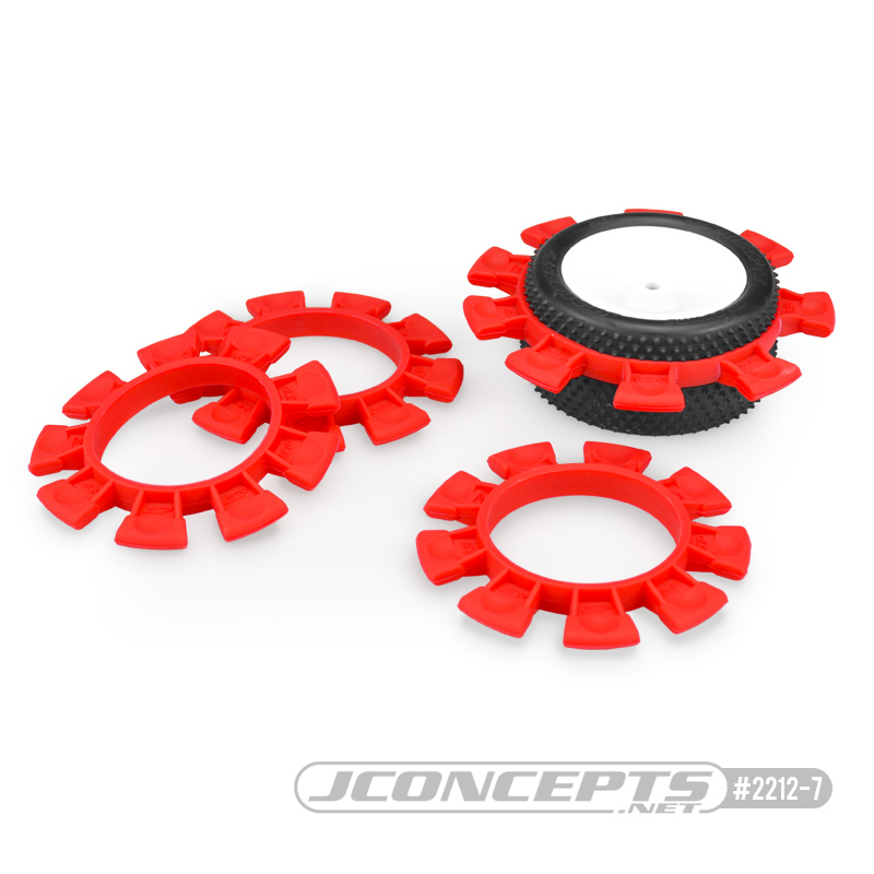 JConcepts - Satellite tire gluing rubber bands - Red