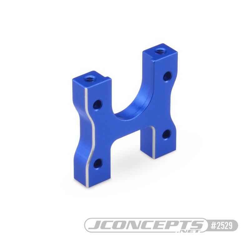 JConcepts B74 Aluminum center diff mount, blue