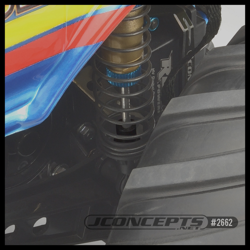 JConcepts - Rubber Bump Stops / MT Suspension Up-Travel Limiters