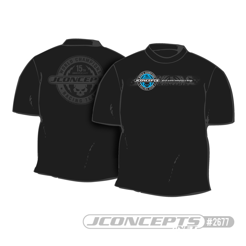 JConcepts 15th Anniversary Skull T-Shirt - Large