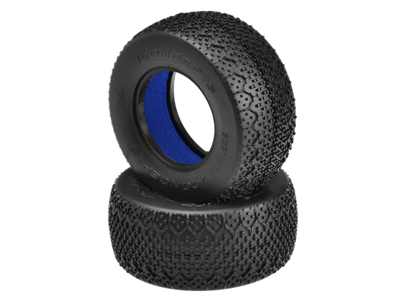 "JConcepts 3Ds - black compound - (fits SCT 3.0"" x 2.2"" wheel)"