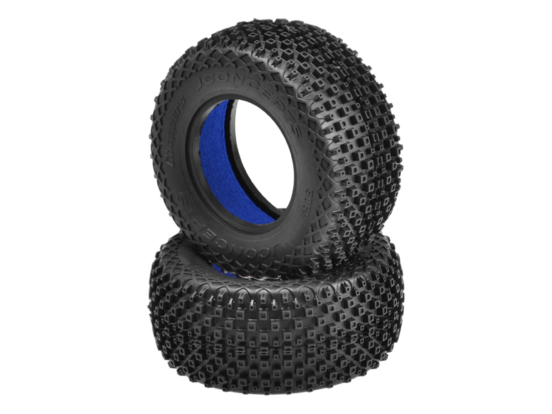 "JConcepts Choppers - blue compound - (fits SCT 3.0"" x 2.2"" wheel"