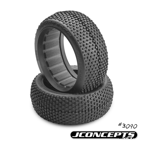JConcepts Chasers - black compound - (fits 1/8th buggy)