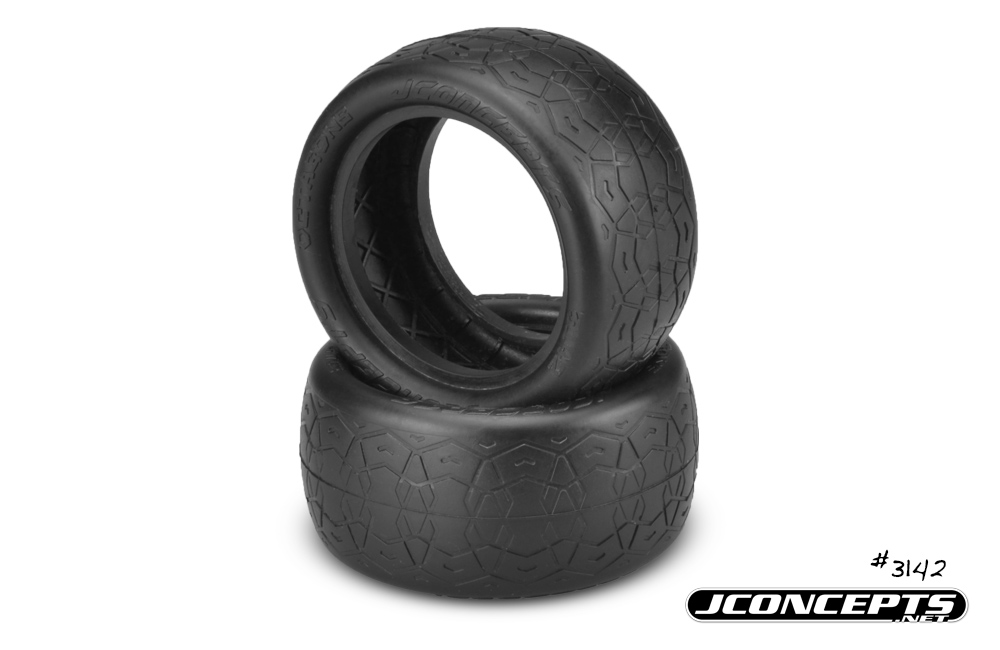 "JConcepts Dirt Octagons - green compound - (fits 2.2"" buggy rear"