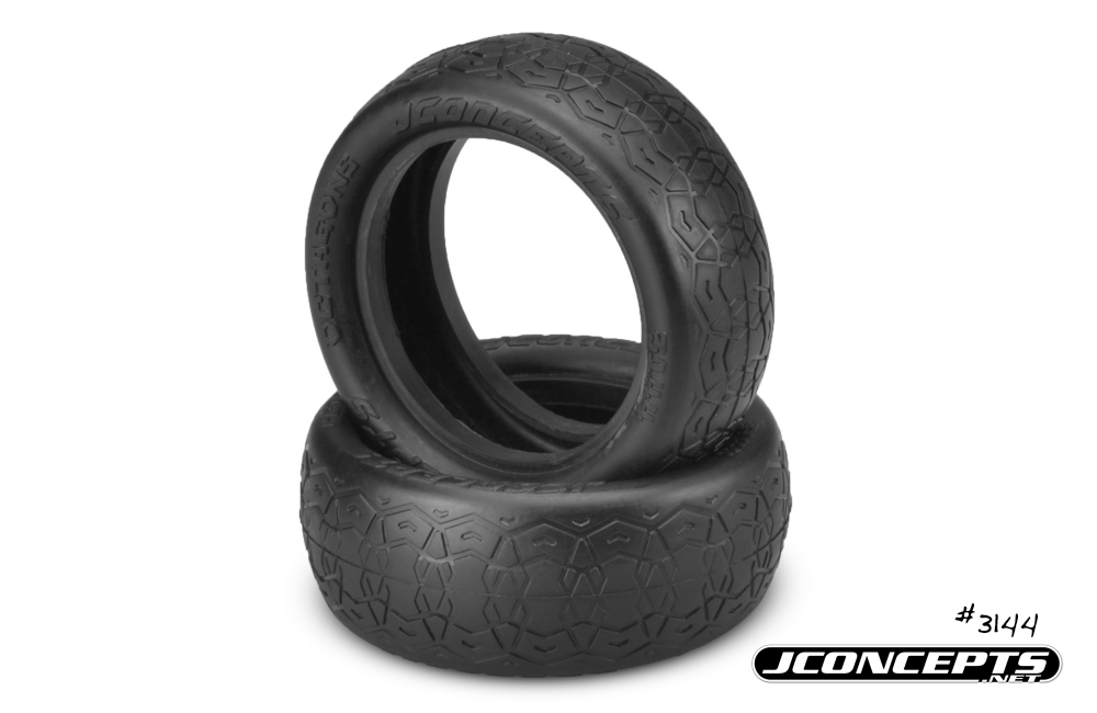 "JConcepts Dirt Octagons - green compound fits 2.2"" 4wd buggy fro"