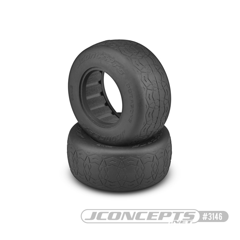 "JConcepts Octagons - silver compound (fits SCT 3.0"" x 2.2"" wheel"