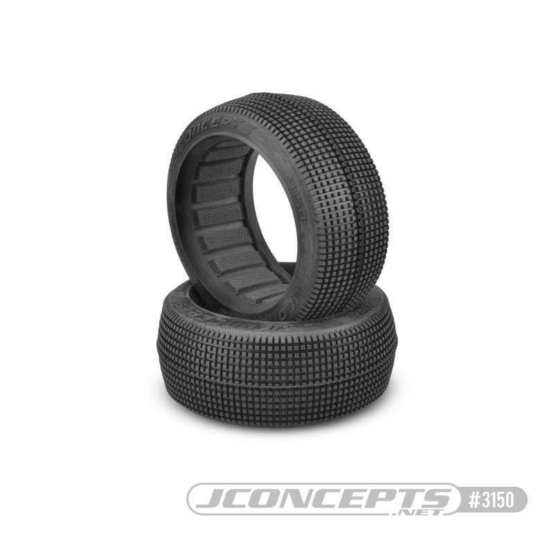 JConcepts Blockers - blue compound (Fits - 83mm 1/8th buggy whe