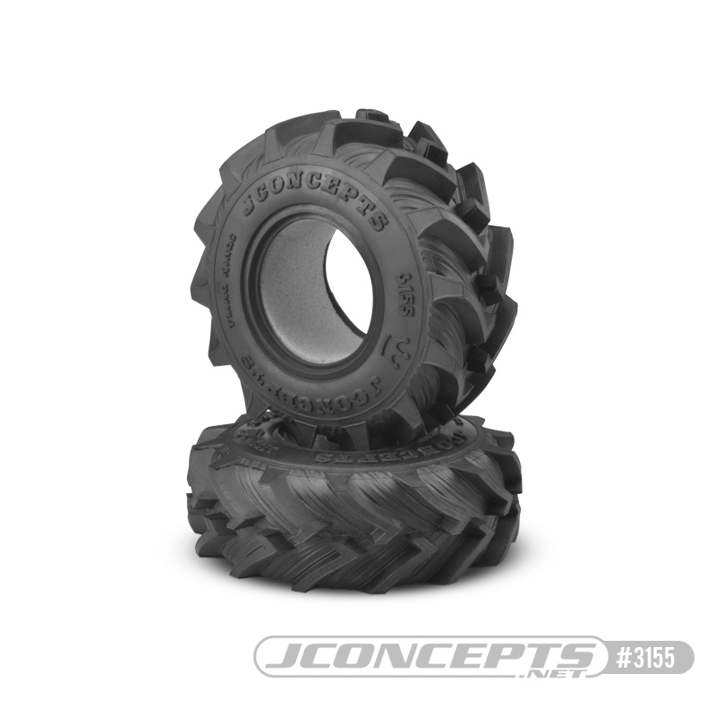"JConcepts Fling King - blue compound Fits 2.6"" wheel, JC #3379B"