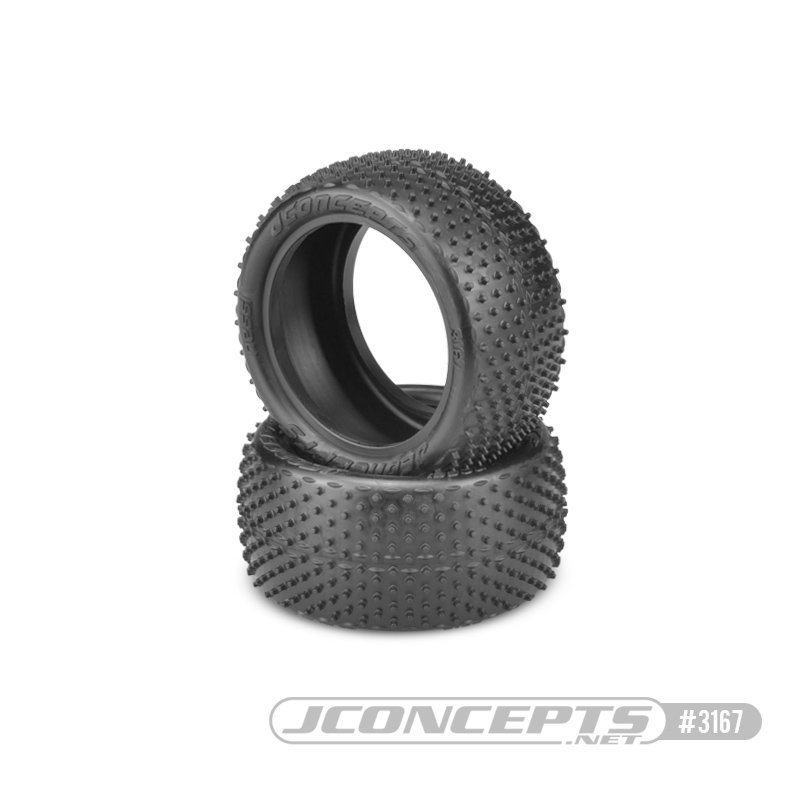 "JConcepts Nessi - pink compound, medium soft - (fits 2.2"" buggy"