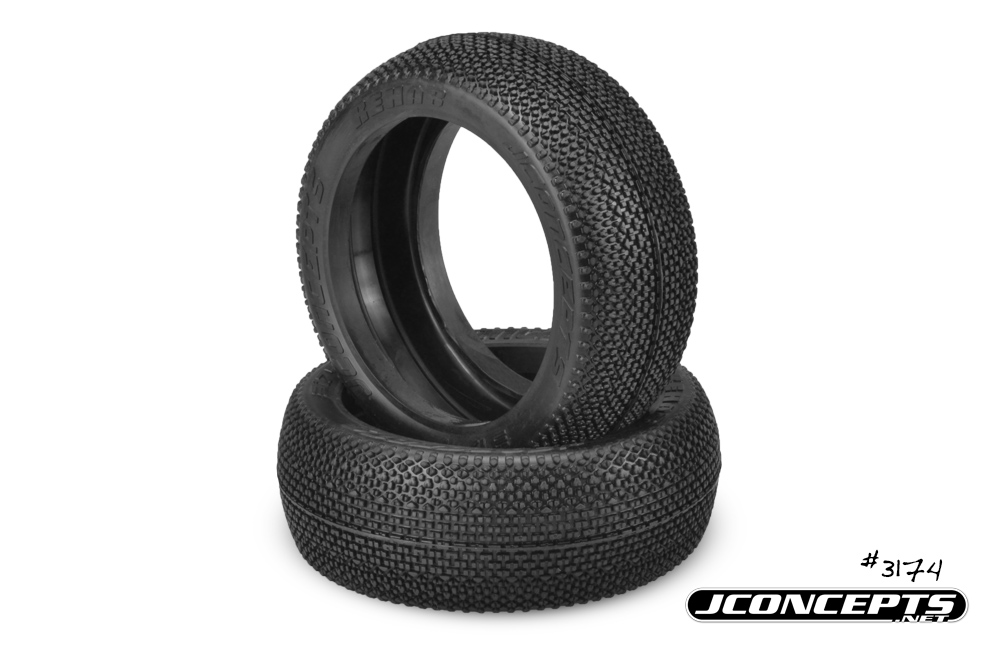 JConcepts ReHab - black compound - (fits 83mm 1/8th buggy wheel)