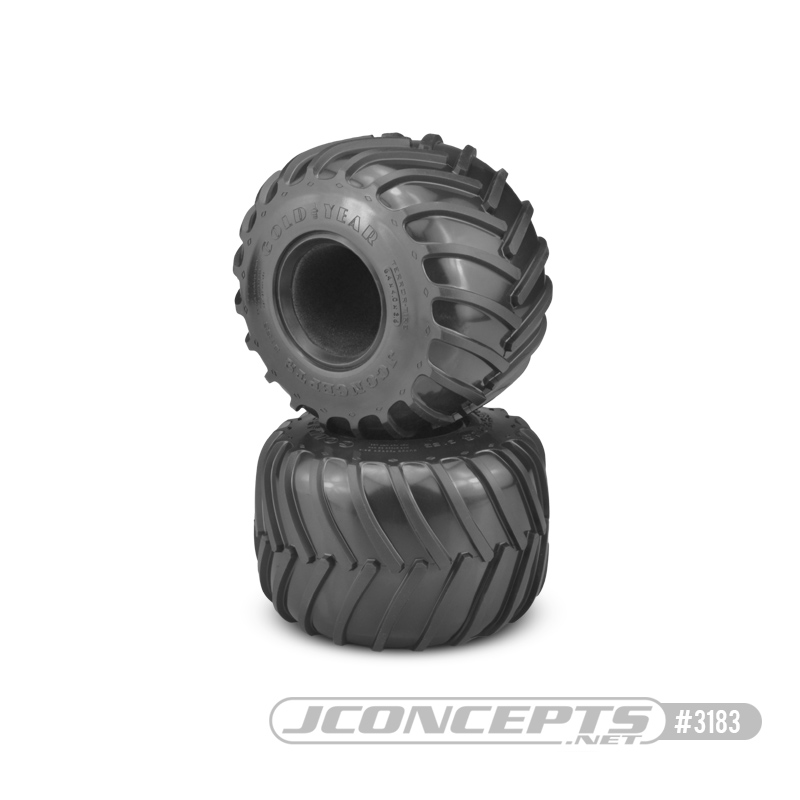 Jconcepts Golden Years - Monster Truck tire - blue compound (Fi