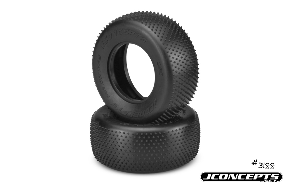 "JConcepts Pin Downs - pink compound (fits SCT 3.0"" x 2.2"" wheel)"