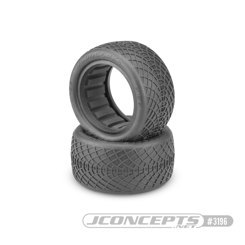 "JConcepts Ellipse - silver compound - (2.2"" Buggy Rear)"