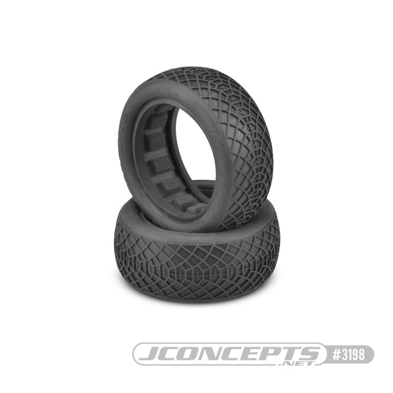"JConcepts Ellipse - Silver compound (fits 2.2"" buggy 4wd front)"