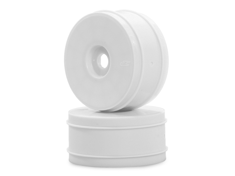 JConcepts Mono - 1/8th buggy wheel - Max-ups - (white) - 4pc - 8