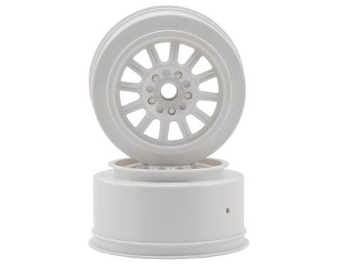 JConcepts Rulux - SC10 front wheel - (white) - 2pc