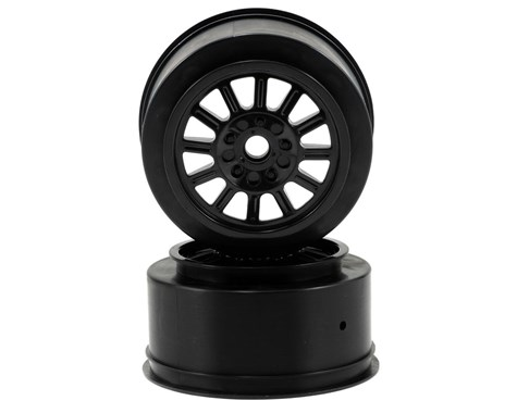 JConcepts Rulux - SC10 front wheel - (black) - 2pc