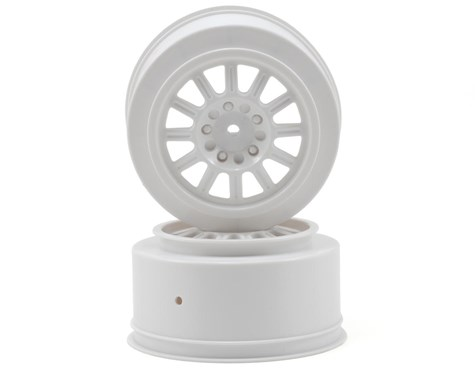 JConcepts Rulux - SC10 rear wheel - (white) - 2pc