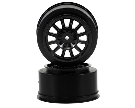 JConcepts Rulux - SC10 rear wheel - (black) - 2pc