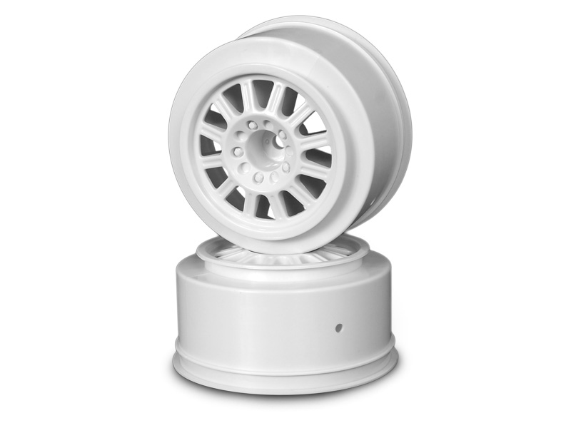 JConcepts Rulux- Slash rear wheel - (white) - 2pc