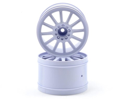 "JConcepts Rulux 2.8"" Stampede, Rustler 2wd Rear White Wheel (2)"