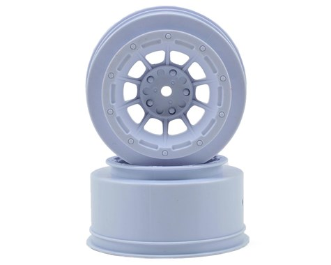 JConcepts Hazard - Slash front wheel - (white) - 2pc.