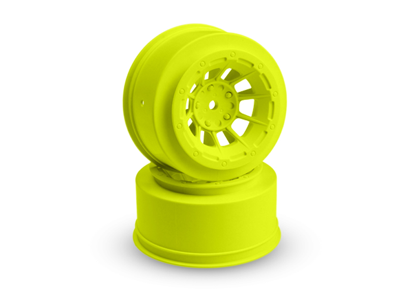 JConcepts Hazard - Slash front wheel - (yellow) - 2pc.