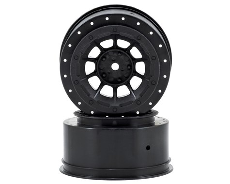 JConcepts Hazard - Slash rear, Slash 4x4 F&R wheel - (black) - 2