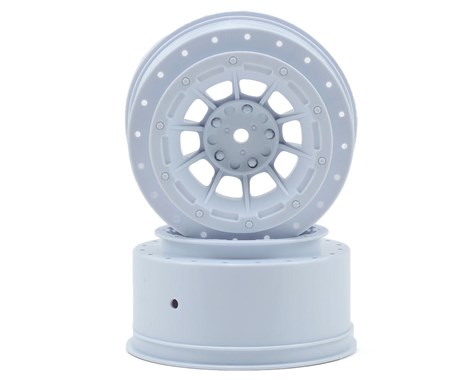 JConcepts Hazard - Slash rear, Slash 4x4 F&R wheel - (white) - 2