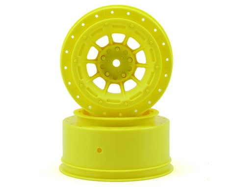 JConcepts Hazard - Slash rear, Slash 4x4 F&R wheel - (yellow) -