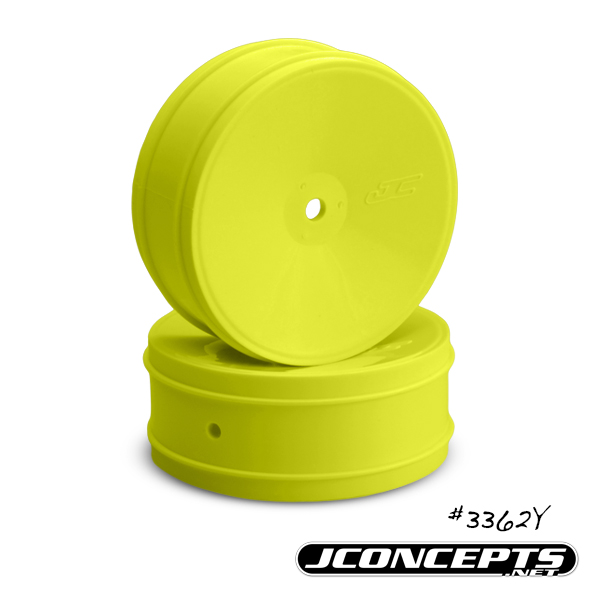 JConcepts Bullet - 60mm B5 | RB6 front wheel - (yellow)