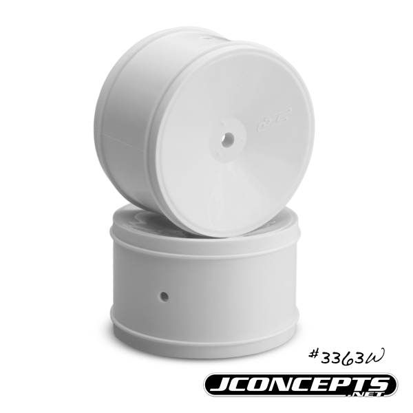 JConcepts Bullet - 60mm B5 | B44.3 | RB6 rear wheel - (white)