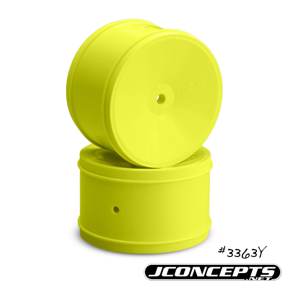 JConcepts Bullet - 60mm B5 | B44.3 | RB6 rear wheel - (yellow)