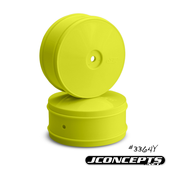 JConcepts Bullet - 60mm B44.3 front wheel - (yellow)