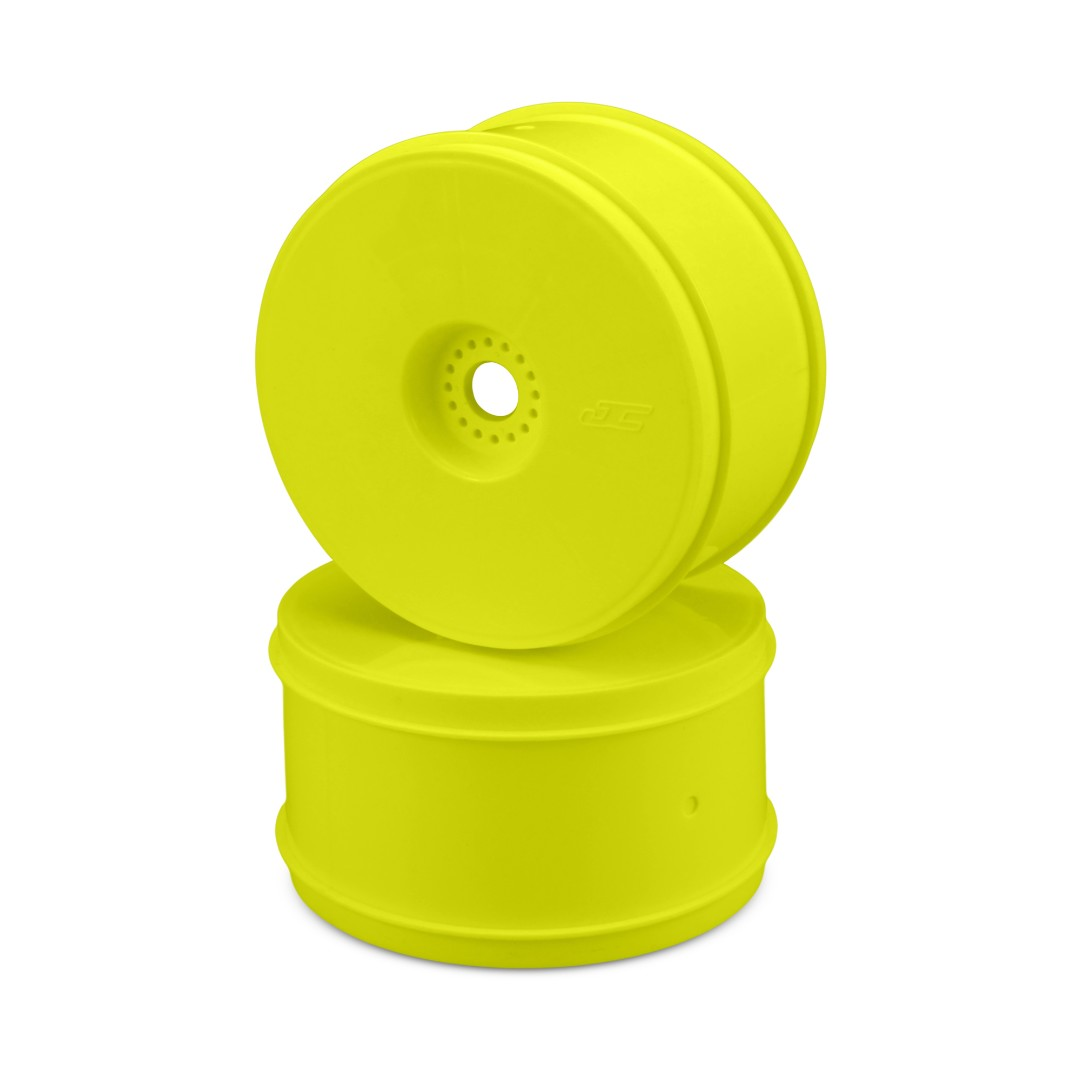 "JConcepts Bullet - 4.0"" 1/8th truck wheel (yellow) - 4pc."